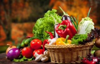 Kırmızı besinler A ve C vitamini, yeşiller potasyum...