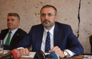 """AK Partili Ünal: """"10 yıllık basın emekçisiyle..."""