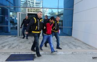 Tutuklandılar: Ellerini bağlayıp ağzını bantlamışlardı