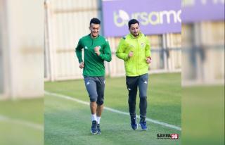Bursaspor'un yeni transferi Tayfur Bingöl ilk...