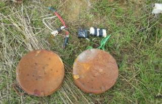 Rasulayn'da anti tank mayını etkisiz hale getirildi