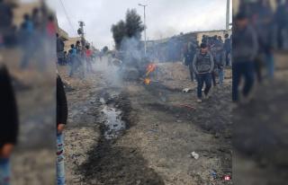 """MSB: """"Tel Abyad'daki bombalı saldırıda 2 sivil..."""