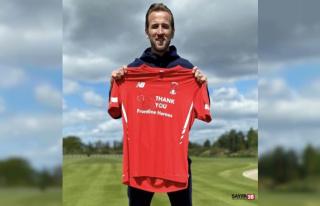 Harry Kane, eski takımı Leyton Orient'e forma...