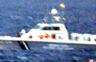 Yunan askeri Türk yatına ateş açtı