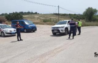 42 sürücüye 20 bin lira ceza
