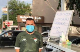 Bursaspor'dan ayrılan Kubilay için lokma döktürdü