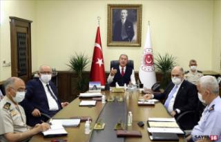 Türk ve Yunan askeri heyetlerinin beşinci toplantıyı...