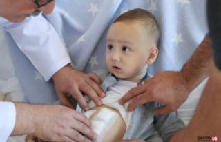 Tıpta nadir rastlanan durum: 1 yaşındaki bebeğin...