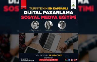 Dijital Pazarlama ve Sosyal Medya Eğitimi'ne rekor...