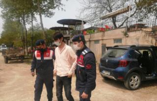 Bursa İznik'te bir otomobilde uyuşturucu ele geçirildi