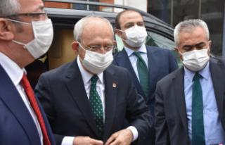 CHP Genel Başkanı Kılıçdaroğlu Sinop'ta
