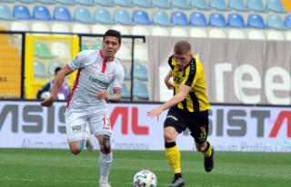 TFF 1. Lig: İstanbulspor:  1 - Boluspor:  1