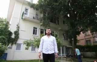 Humeyni'nin sürgün yıllarında Bursa'da kaldığı...