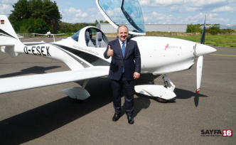 Yerli uçak Yenişehirde üretilecek