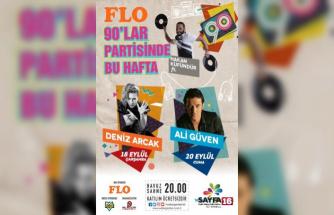 Ataşehir'de açık hava konserlerinde 90'lar rüzgarı