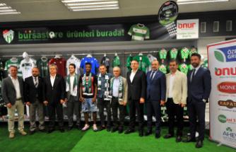 Bursaspor'a destek çığ gibi büyüyor