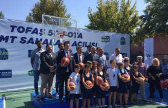 Bursa'ya 50 basketbol sahası
