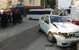 Bursa'da anne kız ölümden döndü