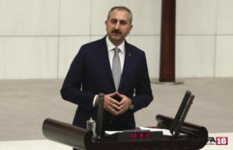 Adalet Bakanı Gül: Bir daha bu ülkeyi hiçbir grubun, hiçbir oluşumun eline teslim etmeyeceğiz