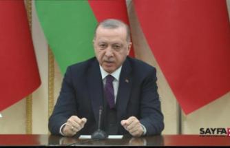 Erdoğan: Azerbaycan'la ticaret hacmimizi 15 milyar dolara çıkaracağız