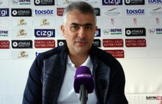 Hatayspor - Osmanlıspor maçının ardından