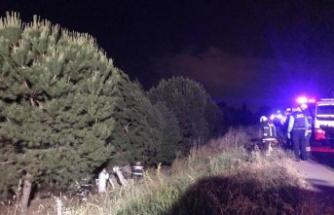 Büşra öğretmen kazada hayatını kaybetti