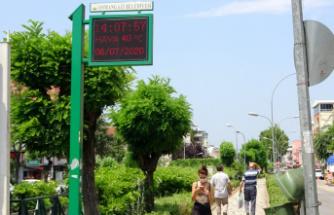 Bursa'da termometreler 42 dereceyi gösterdi!