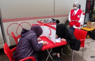Jandarma'dan kan bağışı kampanyası