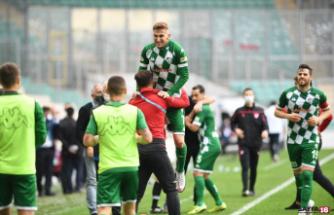 Bursaspor deplasmanda Boluspor ile karşılaşacak
