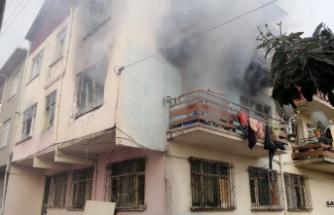 Kocaeli'de evde çıkan yangında 1 kişi hayatını kaybetti