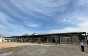 Orhangazi'de kültür merkezinde dükkanlar meydana çıktı