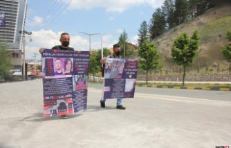 Bir günlük evliliğin nafakası için Ankara'ya yürüyor