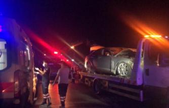 Bursa'nın Gemlik ilçesinde yaşanan kazada ölü sayısı 2 oldu