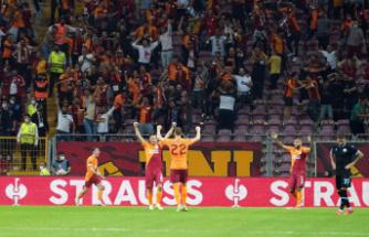 Galatasaray'dan Lazio'ya karşı ikinci galibiyet