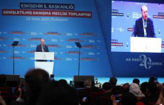 """Cumhurbaşkanı Erdoğan: """"Ufku Ankara'nın ötesine geçmeyenler bizim çok boyutlu dış politikamızı anlayamıyor"""""""