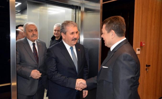 """BBP Genel Başkanı Destici: """"Türk metal sanayicileri otomobile, traktöre yaptığı zammı işçiye de versin"""""""