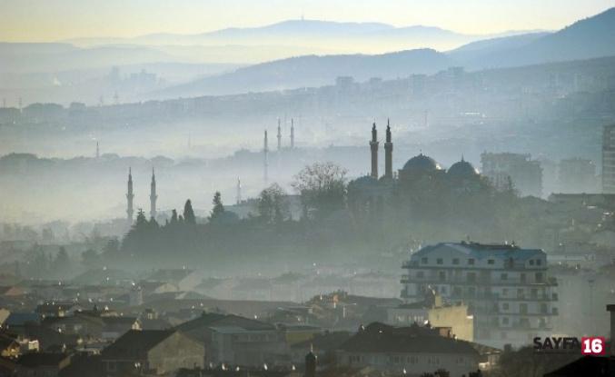 Bursa'da nefes almak yılda 38 paket sigara içmeye eşdeğer