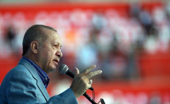 """Cumhurbaşkanı Erdoğan, """"Biz güçlü durdukça Türkiye de güçlü olacak"""""""