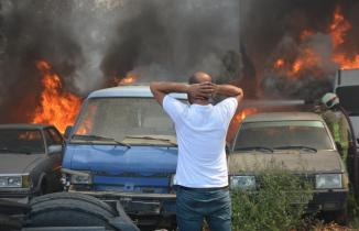 24 aracı küle çeviren yangın böyle başladı